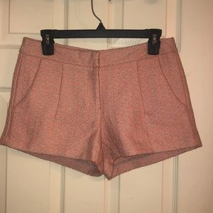 Peachy Tweed Shorts